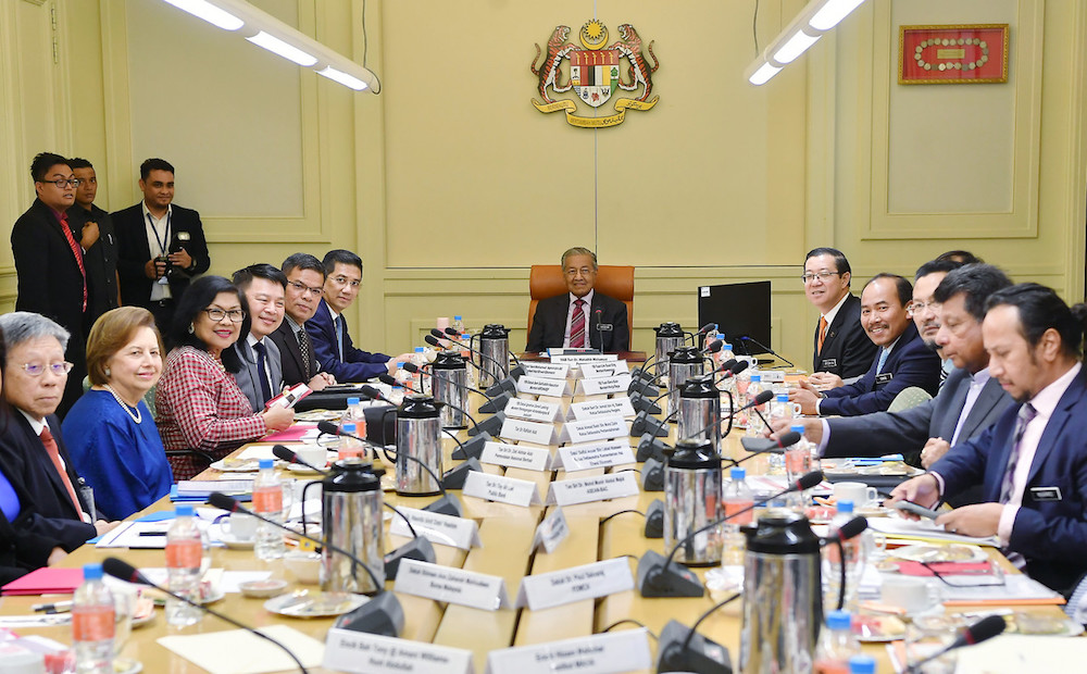 First EAC meeting. Photo Credit to Bernama