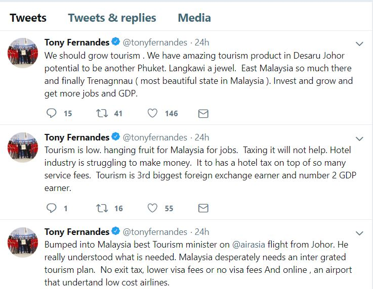 Credit to Tan Sri Tony Fernandes' Twitter